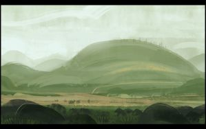 Green Hills by Hideyoshi
