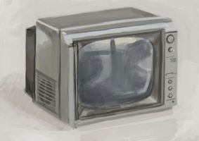 still life - TV by SylvesterHansen