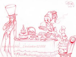 Cakes and sweets by MarineElphie