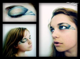 Hogwarts Make up: Ravenclaw by 3luvingGreen