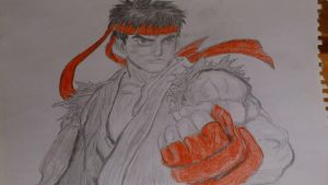 Ryu by BlackCarona