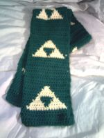 Triforce scarf by ShiningamiMaxwell