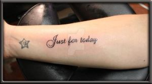 Just for today by Shine70