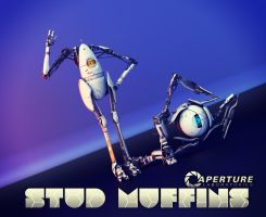 Aperture Laboratories Stud Muffins by acdramon