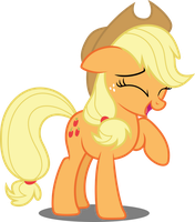 Vector #630 - Applejack #27 by DashieSparkle