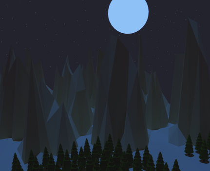 Night at the plateau by smartape