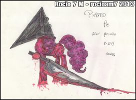 Sketch Pyramid Pie (2) by rocioam7
