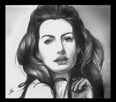 Anne Hathaway by efcee