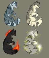 Canine adopts by Eternal-adopts