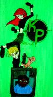 Disney Channel's Kim Possible by InkArtWriter