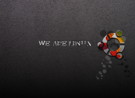 We Are Linux Wallpaper by thales-img