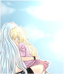 It's so nice to be by your side... by Ayesha-Hiki-hime