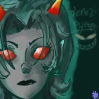 Terezi pyrope because I'm great with titles by IronSteamSheep