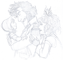 Thenardier Fam by heavensong