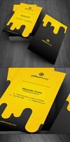 Droppy Business Card by FlowPixel