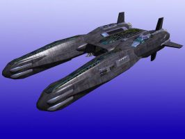 Bridgemere Strike Carrier by DevilDalek