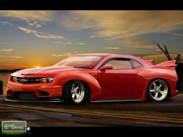 Chevrolet Camaro BMB by blackdoggdesign