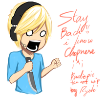 Pewdiepie Chopnese W.I.P. by Toxic-Pepper