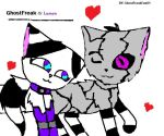 GhostFreak and Lumen by GhostFreakFan01