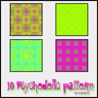 10 psychedelic pattern by Sweet83