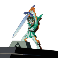 The Master Sword by clampfan101