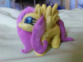 Flutershy - Plasticine by AgnessAngel