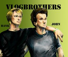 The Vlogbrothers by ClayairTheZambie