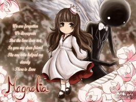 Magnolia - Deemo and The Girl by Caneera