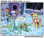 Irresistible Force, Immovable Object by Pony-Berserker