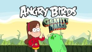 Angry Birds Gravity Falls by rabbidlover01