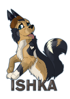 Ishka badge by TheMunchbot