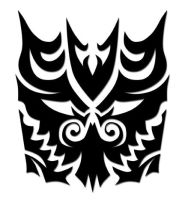 Decepticon Tribal Tattoo by beatnikshaggy