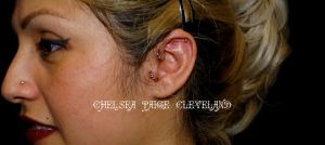 Tragus and Helix Root - WM by SmilinPirateTattoo