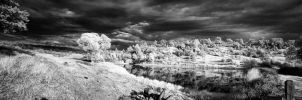 Surreal Storm BW by eccentricphotography