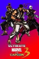 Ultimate marvel vs capcom 3 fan made poster 2 by MoriRanmaru