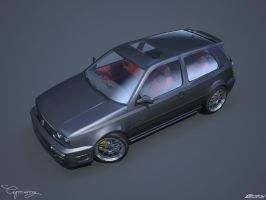 VW Golf 3 GTI 18 by cipriany