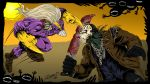 The Maxx vs Jason Voorhees by ZZoMBiEXIII