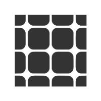Rounded Squares - Square Pattern 1 by wuestenbrand