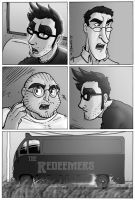 The Redeemers page 8, art only by wheretheresawil