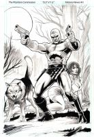 The Phantom commission by FabianoNeves
