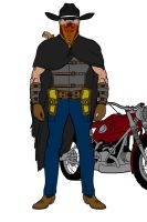 LawMan - Frank Marion by MercyInk87