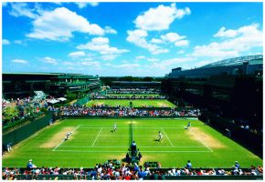 Wimbledon Outer Courts by leftysrock