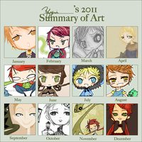 2011 art summary by efyri