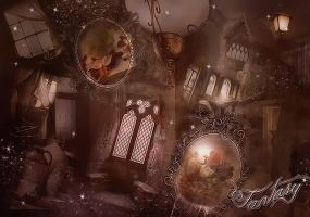 Fantasy Premade Background by Vee-Deviant