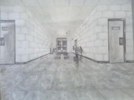 One point perspective by hannahhoneyy