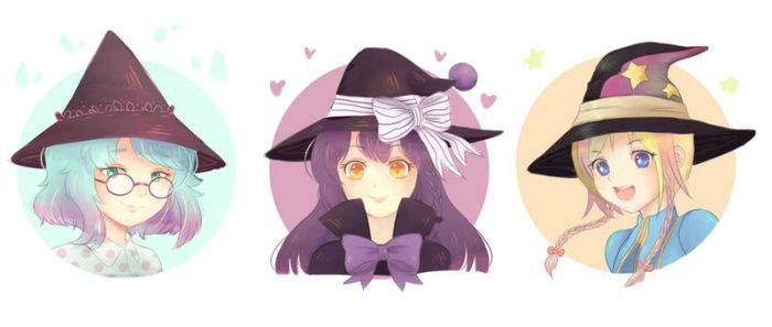 Collab: Three Witches by Frappe7