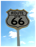 Classic Route 66 by tezzan