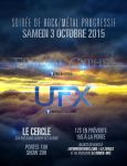Flyer - Fractal Cypher and UFX by neverdying