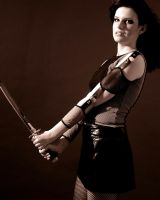 Girl with Sword Stock 7 by kristyvictoria