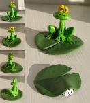 More pictures of the frog by demiveemon